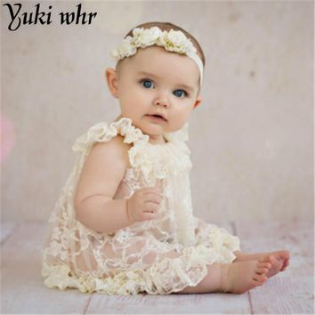 2017 New Arrival Vintage Newborn Lace Dress Princess style Baby Photography Props Newborn Party Costume Baby Shower Gift