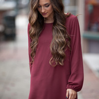 Dare Me Maroon Dress – Dress Up