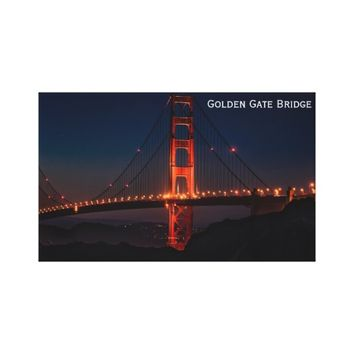 The Golden Gate Bridge San Francisco Canvas Print
