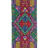 Abstract Print Beach Towel
