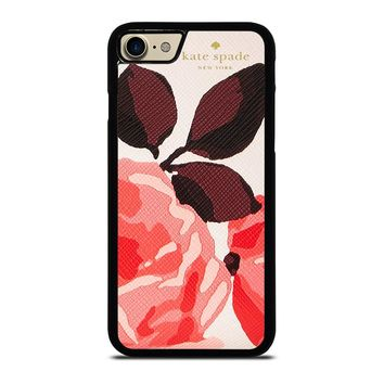 KATE SPADE CAMEROON STREET ROSES 3 iPhone 4/4S 5/5S/SE 5C 6/6S 7 8 Plus X Case