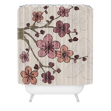 Valentina Ramos Blossom Shower Curtain