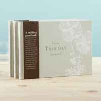 """From This Day Forward"" Wedding Guest Book"