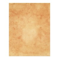 Stained vintage parchment printed scrapbook paper letterhead