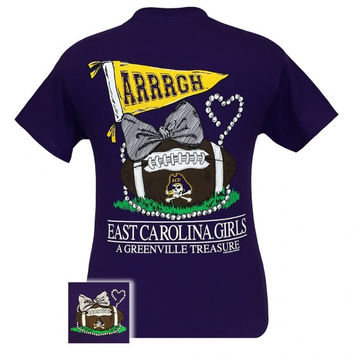 ECU East Carolina Pirates  A Greenville Treasure T-Shirt
