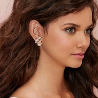 From the Front to Back Rhinestone Earrings