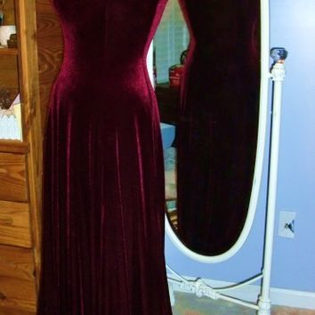 Velvet Dress, Alternative Wedding, Bohemian Wedding, Formal Gown, Long Prom Dress, Mother of Bride Dress, Bohemian Gypsy, Hollywood Glamour