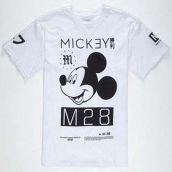 Neff Disney Collection Mickey M28 Mens T-Shirt White  In Sizes