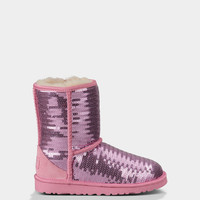 UGG® Classic Short Sparkles for Kids | Free shipping at UGGAustralia.com