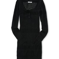 Aeropostale Womens Knit Sweater Dress -