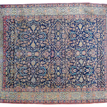 20th-C. Persian Tabriz, 9' x 12'