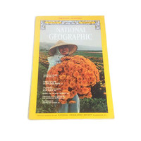 National Geographic Magazine. One issue of NGS Magazine. 1970s.