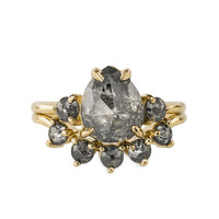 Zoe Yellow Gold Ring
