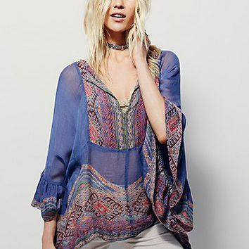 Free People FP One Azara Lara Poncho