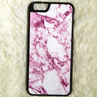 Pink Marble Storms iPhone 6/6s Case
