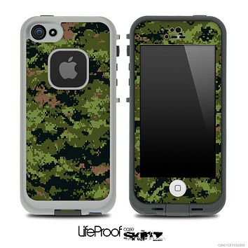 Digital Camo V4 Skin for the iPhone 5 or 4/4s LifeProof Case