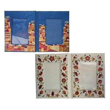 Decorated Fabric Picture Frames