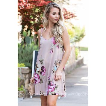 Sunset Dream Floral Dress