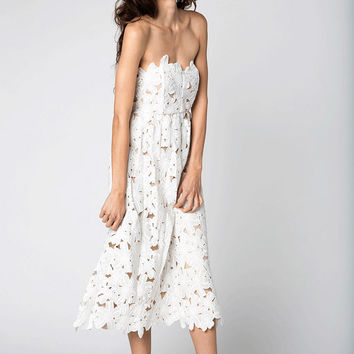 Stone Cold Fox Tennessee dress in white