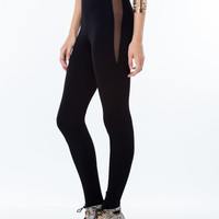 Try-Angles Mesh Inset Leggings GoJane.com