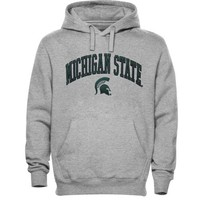 Michigan State Spartans Basic Fleece Hoodie - Ash