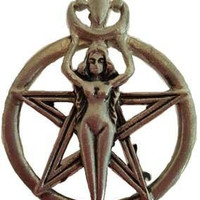 Wiccan Goddess Amulet