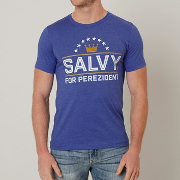Fresh Brewed Tees Salvy For Perezident T-Shirt