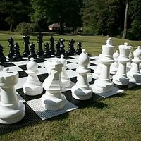 giant chess pieces by uber games | notonthehighstreet.com