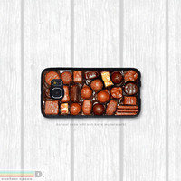 Box of Chocolates, Custom Phone Case for Galaxy S4, S5, S6