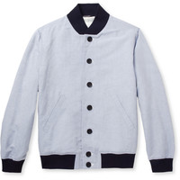 Richard James - Linen and Cotton-Blend Bomber Jacket | MR PORTER