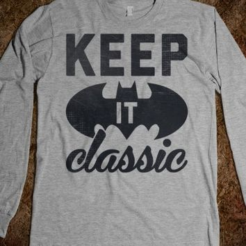 Keep It Classic Batman