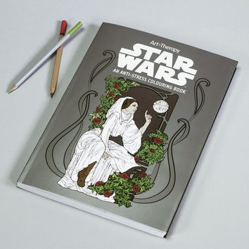 STAR WARS ANTI-STRESS COLOURING BOOK