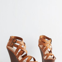 ModCloth Urban Patio Panache Wedge