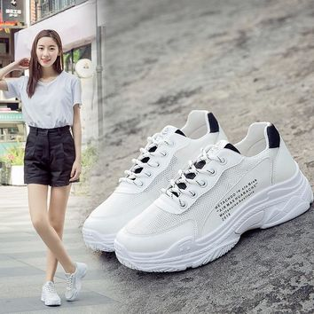 Sports Shoes For Women Breathable Mesh Shoes Woman Shock Absorbant Tennis Fitness Shoes Walking Sneakers Ladies jogging Shoes
