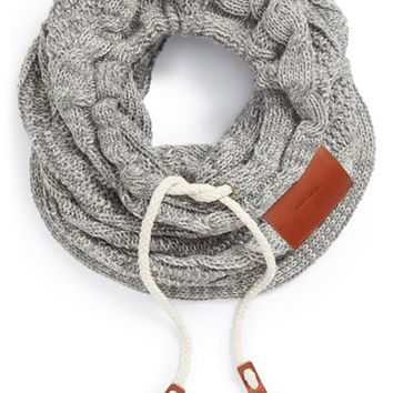 Men's Bickley + Mitchell Cable Knit Neck Gaiter