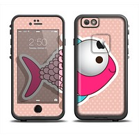 The Colorful Vector Big-Eyed Fish Apple iPhone 6/6s LifeProof Fre Case Skin Set