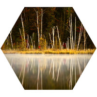 Red Jack Lake Hex Wall Decal
