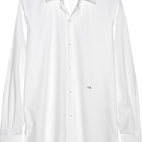 Current/Elliott - + Charlotte Gainsbourg The Buttondown cotton-pique shirt