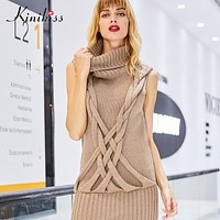 New women knitwear sweater yellow casual loose women knitted sweater fashion young winter cashmere sweater