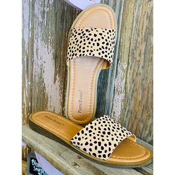 Lizi Slip on Sandals in CHEETAH