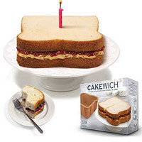 PLASTICLAND - Cakewich Bread Shaped Silicone Cake Pan