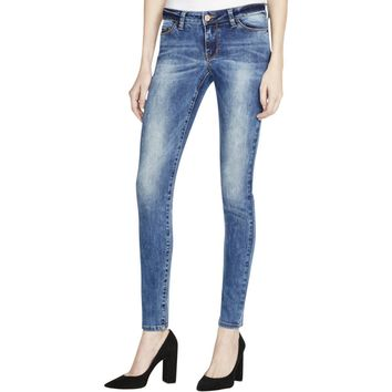 Noisy May Womens Lucy Denim Medium Wash Ankle Jeans