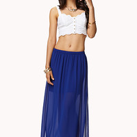 Georgette Maxi Skirt