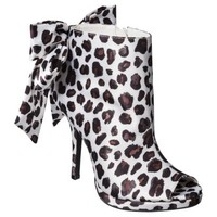 Women's Kate Young for Target® Naya Ankle Bootie with Bow - Leopard