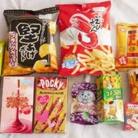 Japanese Popular Classic Candy, Snacks and Cookies (10 Packs)