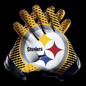 Pittsburgh Steelers 2 Gloves 3x5 ft flag 100D Polyester flag 90x150cm 19129