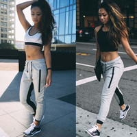 Drawstring Loose Casual Sport Pants