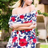 American Floral Dress
