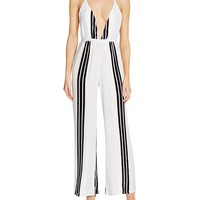 Faithfull the BrandShutterbabe Stripe Jumpsuit