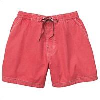 The Hatchie Short in Rich Red by Southern Proper - FINAL SALE